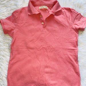 pink Zara boy polo shirt